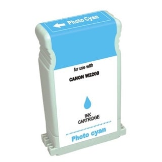 INSTEN Photo Cyan Ink Cartridge for Canon BCI-1302PC
