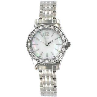 Guess Women's Mother of Pearl Stainless Steel Watch
