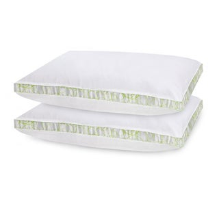 SwissLux Gusseted Density Pillows (Set of 2)