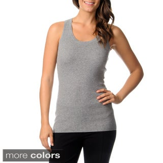 Ply Cashmere Women's Sleeveless Cashmere Tank Top