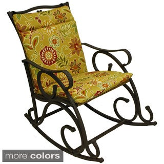 Blazing Needles Outdoor Single Glider Chair Cushion