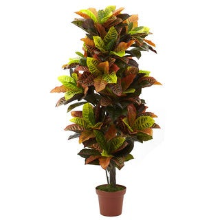 56-inch Croton Plant (Real Touch)