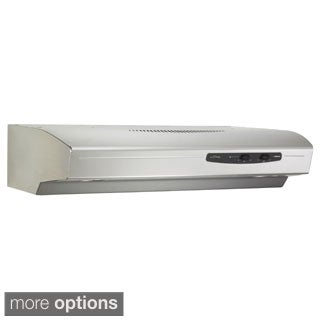 Broan QS136 Allure Series 220 CFM Under Cabinet 36-inch Hood