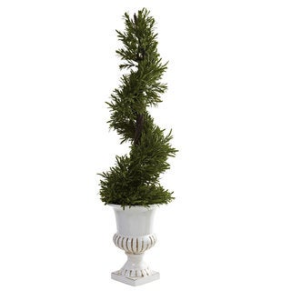 3-Foot Indoor/Outdoor Rosemary Spiral with Urn