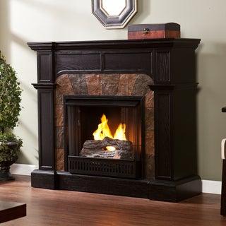 Upton Home Hollandale Ebony Gel Fuel Fireplace
