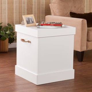 Upton Home Chatsworth Trunk Storage End Table