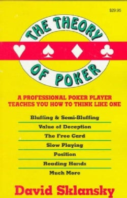 The Theory of Poker (Paperback)