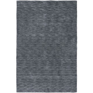 Gabbeh Hand-tufted Charcoal Rug (9'6 x 13')