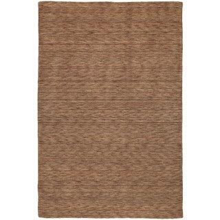 Gabbeh Hand-tufted Copper Rug (9'6 x 13')