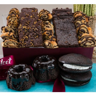 Gourmet Chocolate Lovers #1 Brownie Ganache Bakery Collection