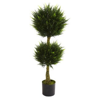 4-foot Double Ball Cypress Topiary