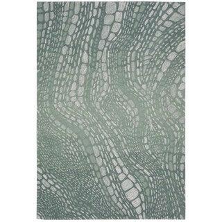 kathy ireland by Nourison Palisades Aqua Rug (8' x 10'6)