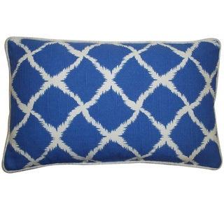 Jiti Blue 12 x 20-inch Net Pillow