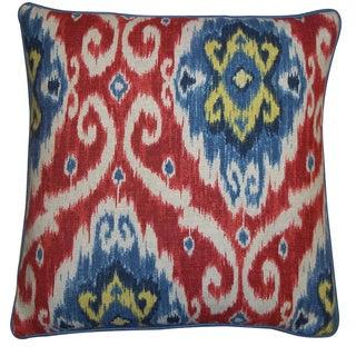 Jiti Red 20 x 20-inch Kyllini Pillow