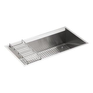 KOHLER K-3673-NA 8 Degree Under-Mount Large Single-Bowl Kitchen Sink