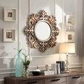 INSPIRE Q Kiona Roccoco Frame Bronze Finish Accent Wall Mirror