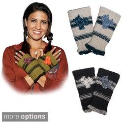 Hand-knit Woolen Owl Hand Warmers (Nepal)
