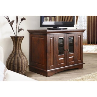 Furniture of America Wildon Transitional Multi-shelving Entertainment Cabinet
