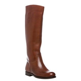 Prada Women's 'Prestige' Camel Calf Leather Knee-high Boots