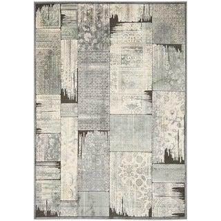 Safavieh Paradise Grey/ Anthracite Viscose Rug (8' x 11'2)