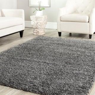 Safavieh Shag Dark Grey Rug (8'6 Square)