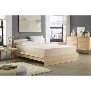 WHITE by Sarah Peyton 8-inch Convection Cooled Firm Support Queen-size Memory Foam Mattress