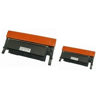 INSTEN Toner Cartridge for Samsung CLT-K406S/ CLP-360 (Pack of 2)