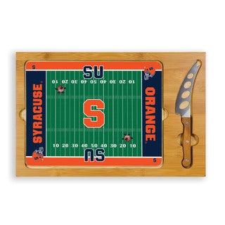 Picnic Time Syracuse University Otto Orange Icon Cheese Tray