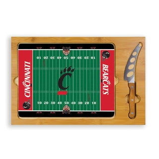 Picnic Time University of Cincinnati Bearcats Icon Cheese Tray