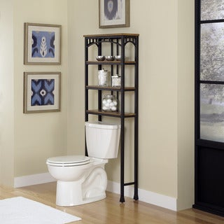 Modern Craftsman Over the Commode Stand