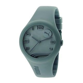 Puma Men's PU103001005 Grey Silicone Watch