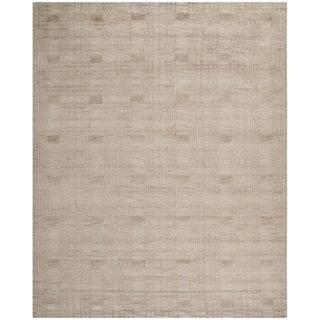 Safavieh Hand-knotted Tibetan Slate Wool Rug (9' x 12')