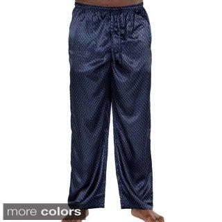 Del Rossa Men's Satin Pajama Pants