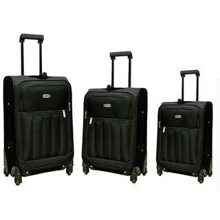 Hercules 3-piece Spinner Fast Track III Luggage Set