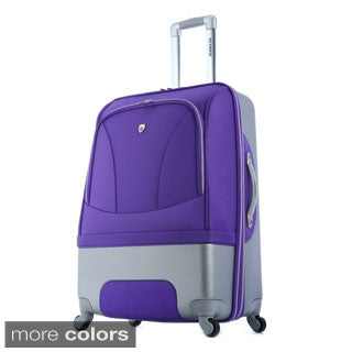 Olympia 'Majestic' 29-inch Hybrid Large Spinner Upright Suitcase