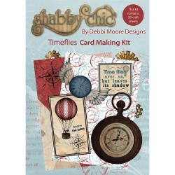 Debbi Moore Shabby Chic Card Kit - Time Flies