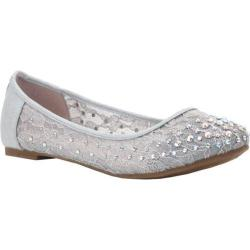 Women's Coloriffics Evelyn Silver Lace/Satin