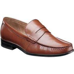 Men's Nunn Bush Westby Penny Cognac Smooth Leather