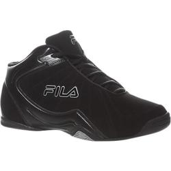 Men's Fila Leave It On The Court 2 Black/Black/Metallic Silver
