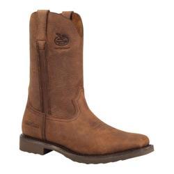 Men's Georgia Boot G006 11in Carbo-Tec Wellington Dog Wood Leather