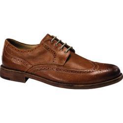 Men's Dockers Flagler Oxford Tan Distressed Burnishable Full Grain Leather