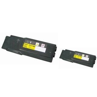 Insten Premium Yellow Color Toner Cartridge WC6605/ 106R02227 for Xerox Phaser 6600/ 6600dn