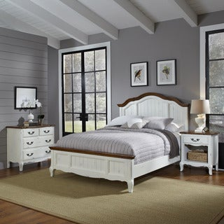The French Countryside King Bed, Night Stand, and Chest