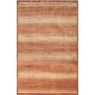 Safavieh Hand-knotted Tibetan Multicolored Wool/ Silk Rug (9' x 12')