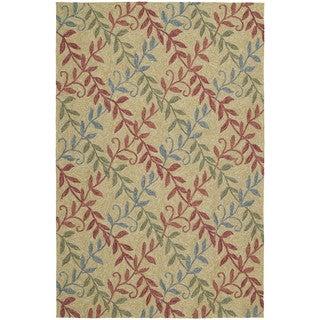 Fiesta Camel Indoor/ Outdoor Trellis Rug (7'6 x 9'0)