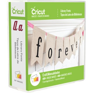 Cricut Library Font Cartridge