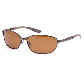 Extreme Optiks 'Nvig8r' Dark Gun Polarized HD Sunglasses