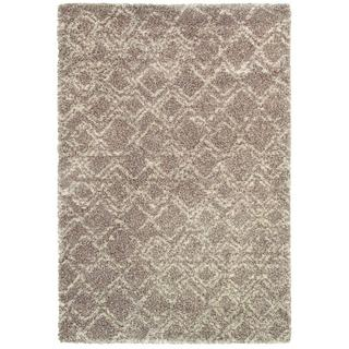 Bromley Pinnacle/ Camel-ivory Power-loomed Area Rug (7'10 x 11'2)