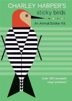 Charley Harper's Sticky Birds: An Animal Sticker Kit (Paperback)