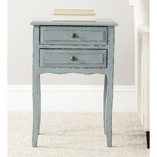 Safavieh Lori Distressed Pale Blue Accent Table